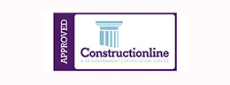 Construction Line approved graphic