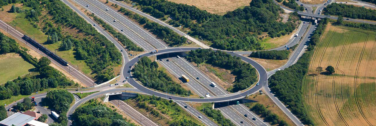 M20 Junction Aerial Photo